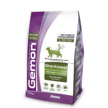 Gemon Cat Sterilized Turkey 1.5kg
